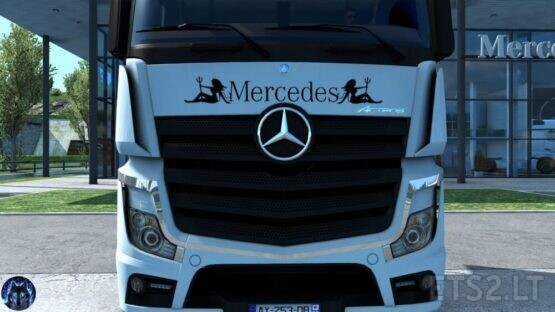 Mercedes Actros MP4 Reworked v2.5 [Schumi] [1.39]