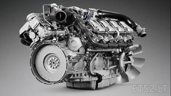 Scania Newgen V8 Openpipe 1.39