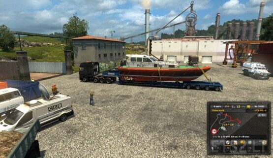 "Mod ""Oversized cargo"" V9.0-V9.1 for the map ""Russian_open_spaces"" v 9.0(1.39)"