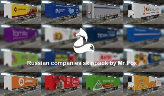 Pak Skins for your Trailer by Mr.Fox version 1.6.1