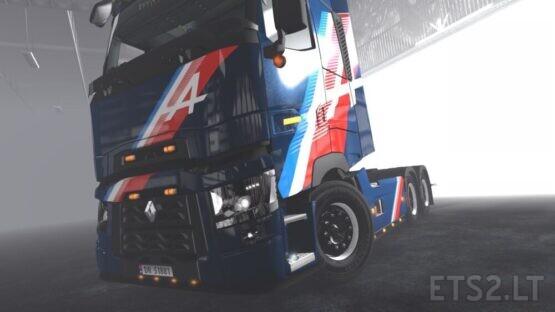 Renault Trucks – Alpine Skins pack V1.3