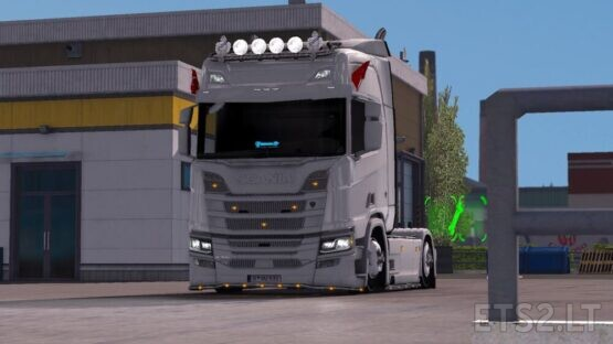 Scania Low Truck mod (Scania basıklık modu)
