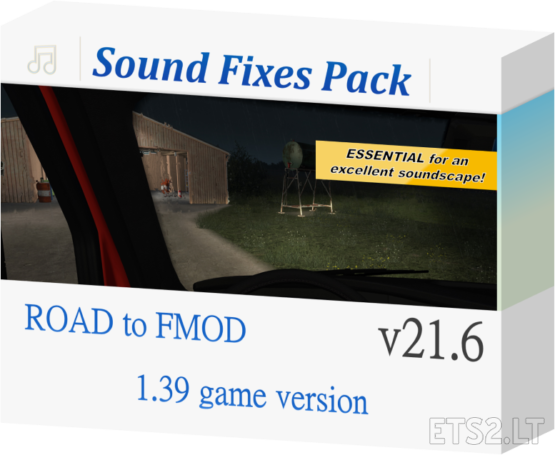 Sound Fixes Pack v 21.6