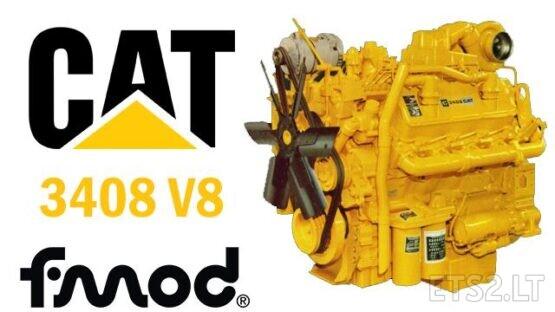 CAT 3408 V8 ENGINES SOUNDS 1.39