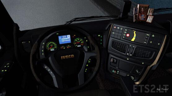 Dashboard light Iveco Hi-Way Pack 0.9