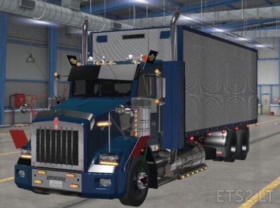 Kenworth t800 Cartruck ets2 1.39.1