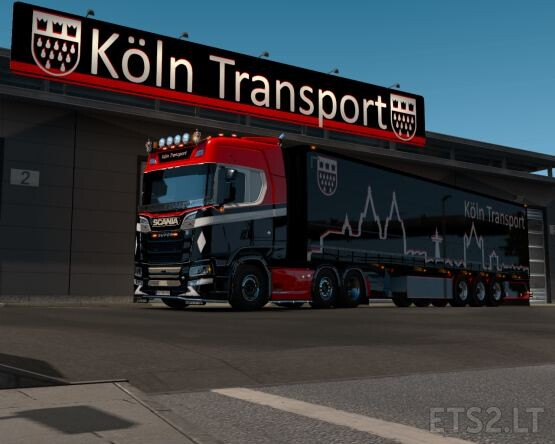 Köln Transport Pack