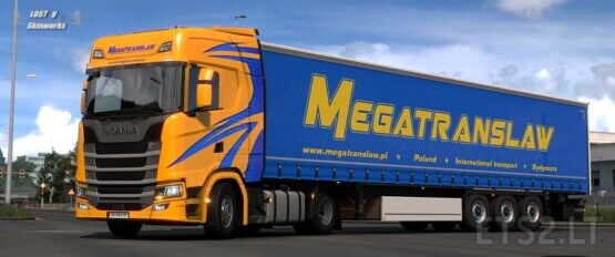 Megatranslaw Scania S Combo Pack