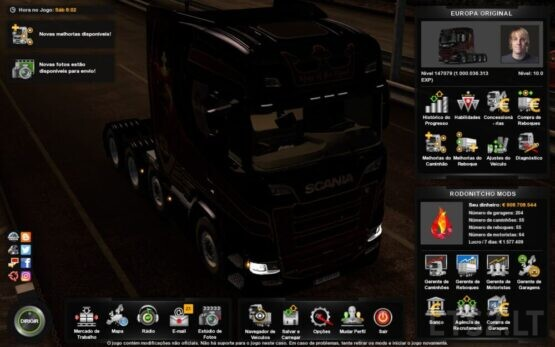 PROFILE ETS2 1.40.0.105S BY RODONITCHO MODS 1.40