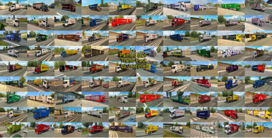 Painted BDF Traffic Pack by Jazzycat v9.3