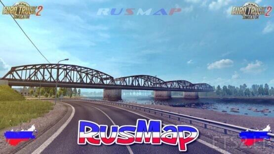RUSMAP V2.3.1 BETA ETS2 1.40