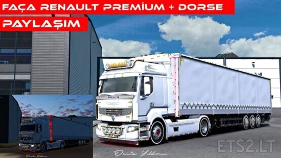 ETS 2 | Renault Premium & Trailer