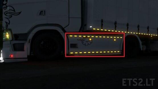 SideSkirt Lights for NewGen 4×2 Chassis