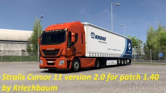 Stralis Cursor 11 version 2.0