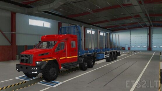 OFF-ROAD CHASSIS FOR STANDARD TRAILERS V1.2