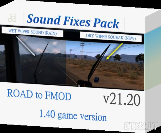 Sound Fixes Pack v 21.20