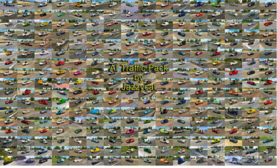 AI Traffic Pack by Jazzycat v14.9