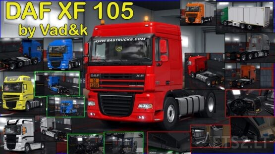 DAF XF 105 by vad&k v 7.4