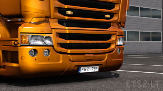 Eyelids for RJL Scania