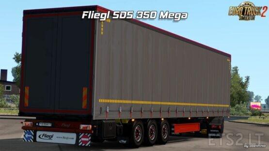 Fliegl SDS350 Mega – Rework par obelihnio [1.40.x]