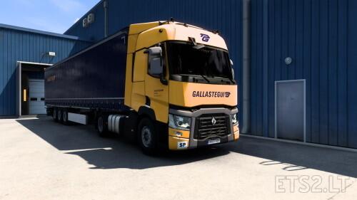 Galastegui Renault T Sleeper + Profiliner