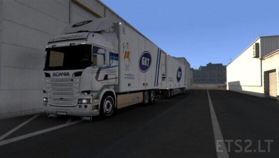 Götene Kyltransporter AB Combo Pack