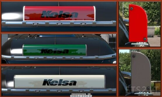 KELSA LED ILLUMINATED NAMEBOARDS V1.2