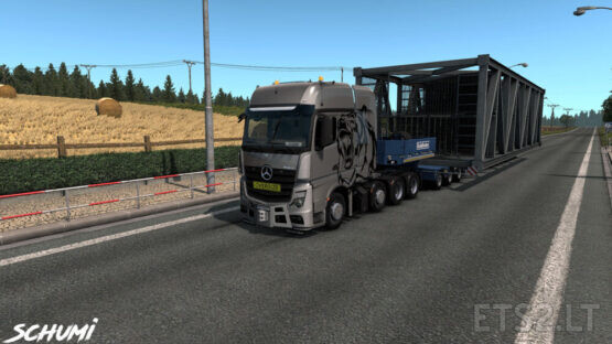 Mercedes Actros MP4 Reworked v2.7 [Schumi] [1.40]