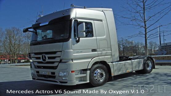 Mercedes Actros V6 Stock Sound V.1.0