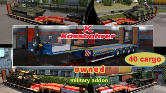 Military Addon for Ownable Trailer Kassbohrer LB4E v1.1.5
