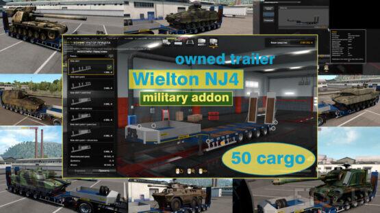 Military Addon for Ownable Trailer Wielton NJ4 v1.5.5