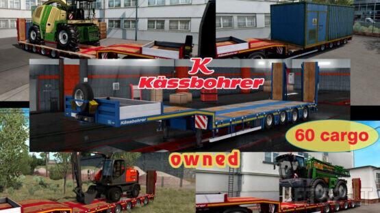 Ownable overweight trailer Kassbohrer LB4E v1.1.6