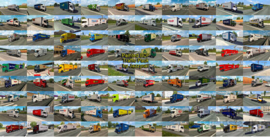 Painted BDF Traffic Pack by Jazzycat v9.7