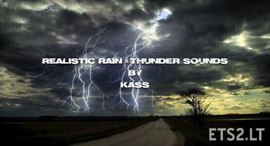 Realistic Rain & Thunder Sounds V4.2
