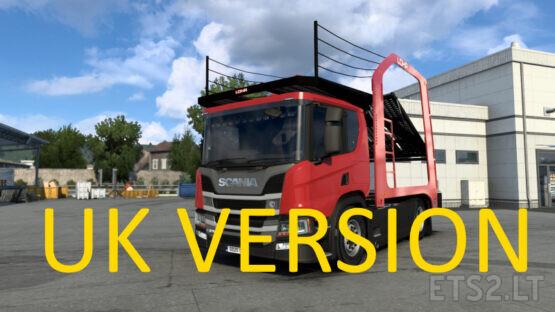 Scania P Cartransporter for Eugene Scania Pack v 2.0