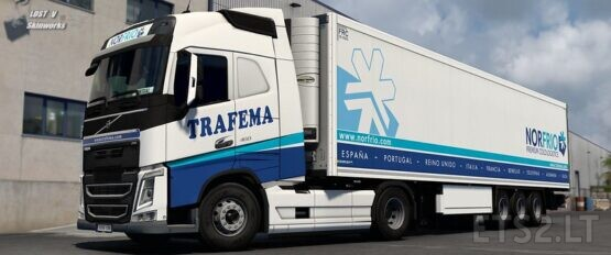 Trafema Transportes Volvo FH Combo Pack v1.0.2