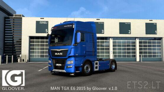 MAN TGX E6 2015 by Gloover v.1.0 (1.40) 28.05.21