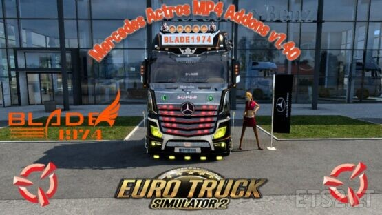 Mercedes Actros MP4 Addons 1.40