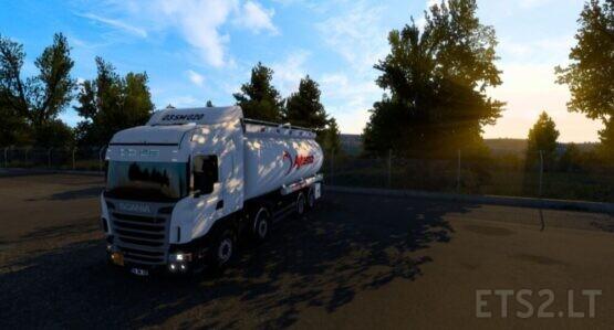 Scania R440 Tanker