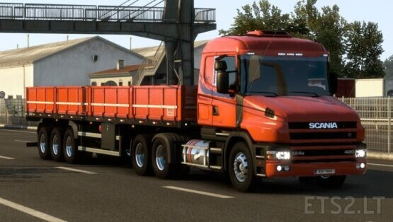 Scania T and T 124G Brazilian edit corrections for 1.40
