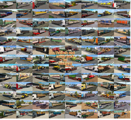Trailers and Cargo Pack by Jazzycat v9.6.1
