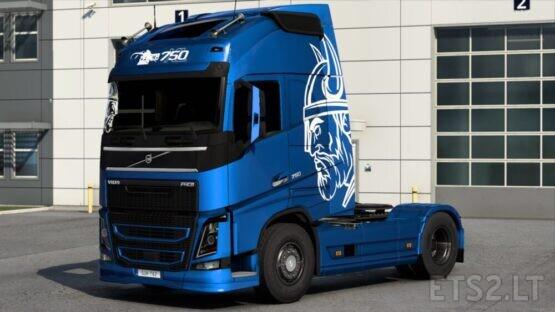 Volvo Viking Edition skin