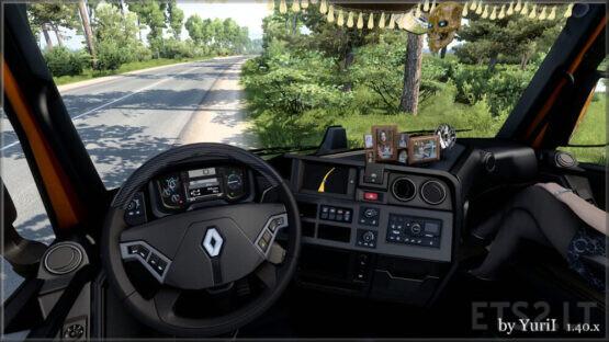 Dark interior for Renault Range T v.1.3