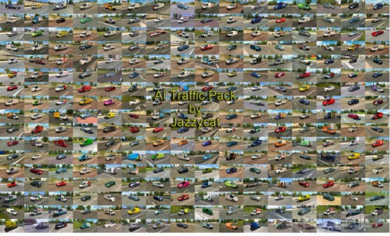 AI Traffic Pack by Jazzycat v15.5.1