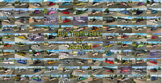 Bus Traffic Pack by Jazzycat v12.0