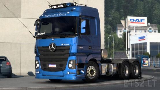 Mercedes Actros V1.5 Update to 1.41