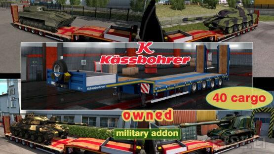 Military Addon for Ownable Trailer Kassbohrer LB4E v1.1.6