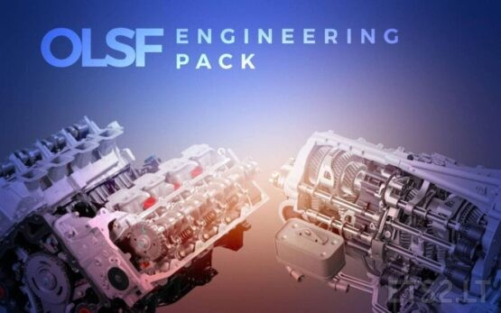 OLSF Engineering Pack 4 (Engine + Dual Clutch Transmission) – ETS2 1.41