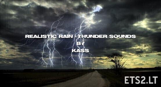 Realistic Water & Rain & Thunder Sounds V4.6