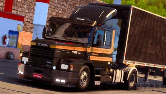 Scania 113H MEGAMOD